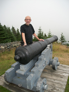 Cannon at Castle Hill